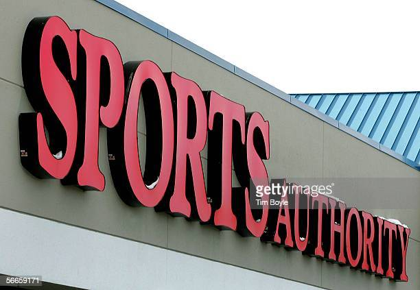 An exterior of a Sports Authority store is shown January 24 2006 in Niles Illinois Sports Authority has announced that it has reportedly entered into...