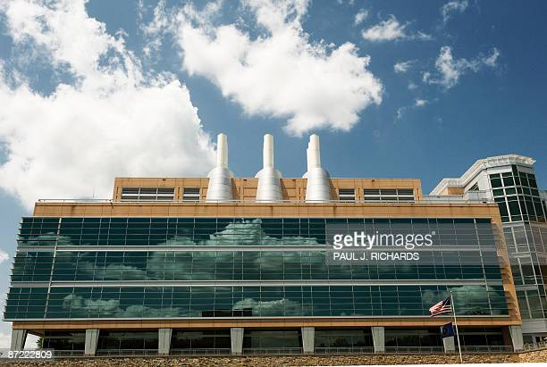 An exterior shot of part of the Federal Bureau of Investigation crime laboratory May 12 on the grounds of the FBI Academy in Quantico Virginia where...