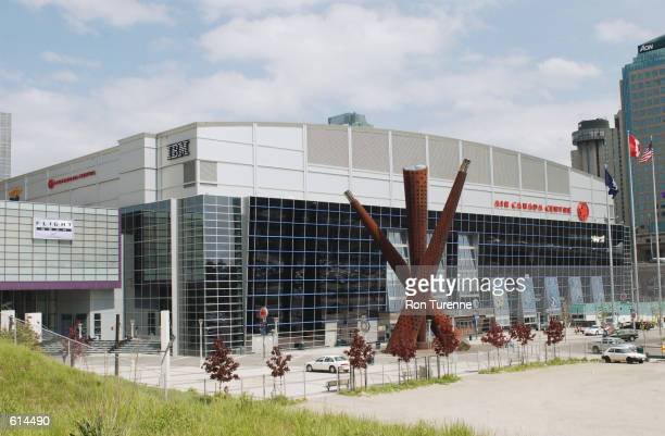 An exterior shot of the Air Canada Centre in Toronto Canada on May 24 2002 NOTE TO USER User expressly acknowledges and agrees that by downloading...