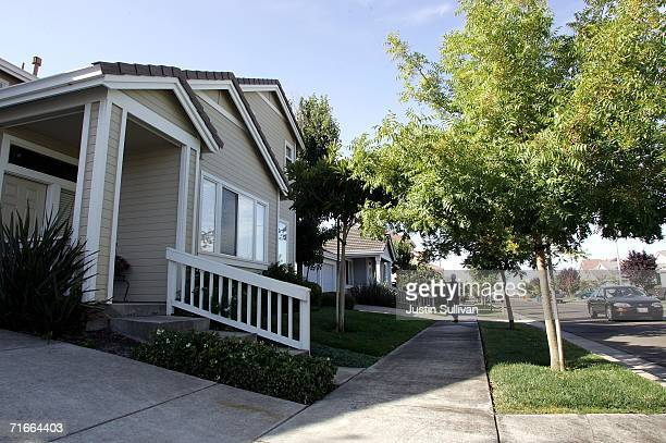 An exterior view of a home allegedly belonging to Lara Karr the ex wife of John Mark Karr a suspect in the 1996 murder of JonBenet Ramsey August 17...