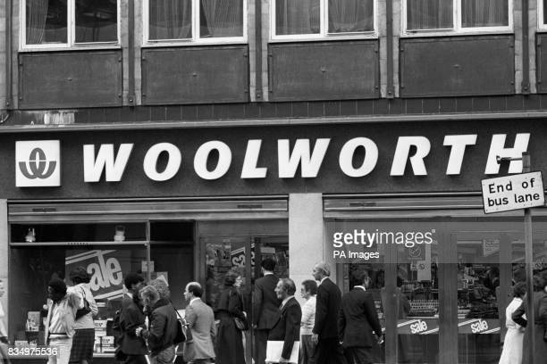 An exterior view of a typical Woolworths store A massive 310 million takeover bid for the Woolworth High Street chain