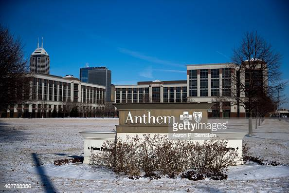 An exterior view of an Anthem Health Insurance facility on February 5 2015 in Indianapolis Indiana About 80 million company records were accessed in...