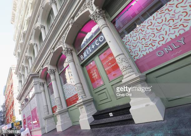 An exterior view of Brit Co Kicks Off Experiential PopUp #CreateGood with Allison Williams and Daphne Oz at Brit Co on October 4 2017 in New York City