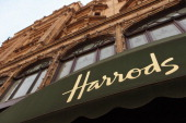 An exterior view of Harrods department store in Knightsbridge on March 24 2011 in London England Harrods has over one million square feet of retail...