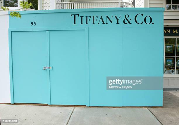 An Exterior View Of Jewelry Store Tiffany Co Is Shown May 27 2002 In East Hampton Ny The Hamptons Located On The Tip Of Long Island Is A Popular Area...