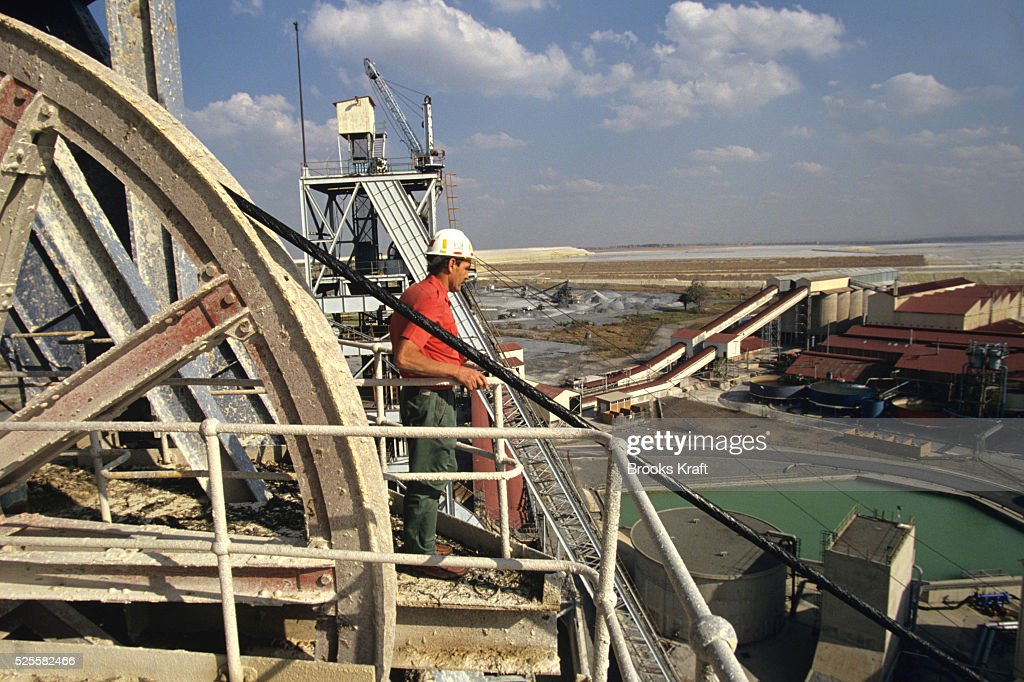 An exterior view of Kinross Gold Mine in South Africa