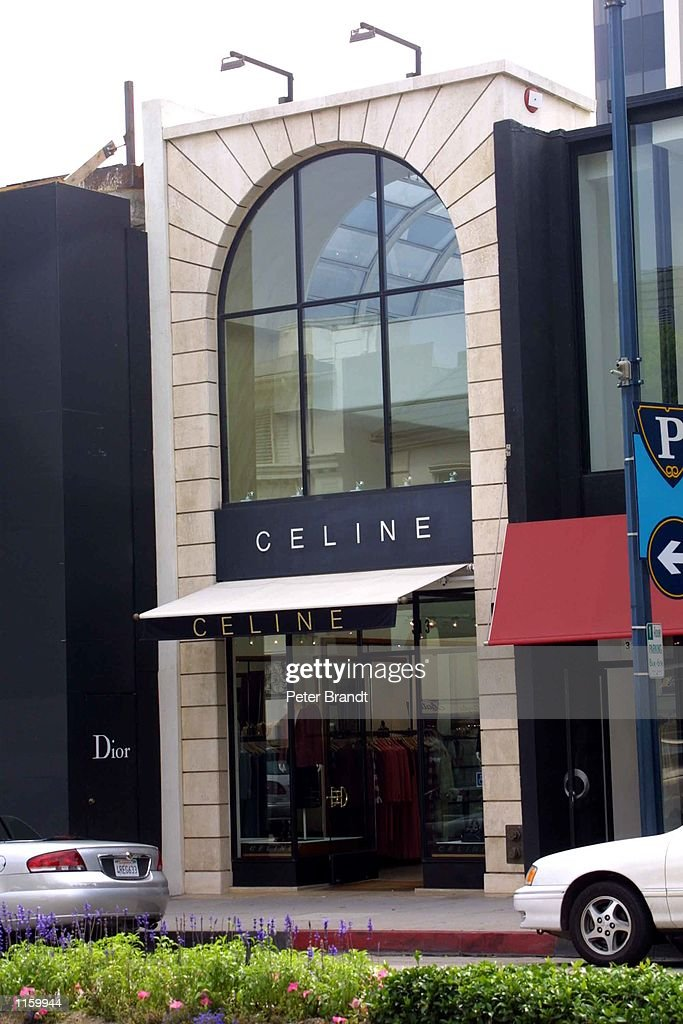 An exterior view of the Celine store on Rodeo Drive September 6, 2001 in Beverly Hills, CA.