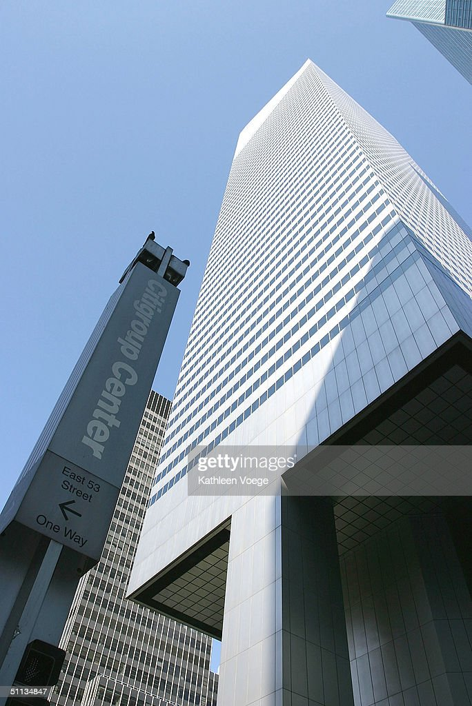 An exterior view of the Citicorp Building is shown August 1, 2004 in New York City. The U.S. federal government raised the terror alert to orange in New York City, Newark, New Jersey and Washington, DC areas amidst warnings of potential terrorist attacks against financial institutions.