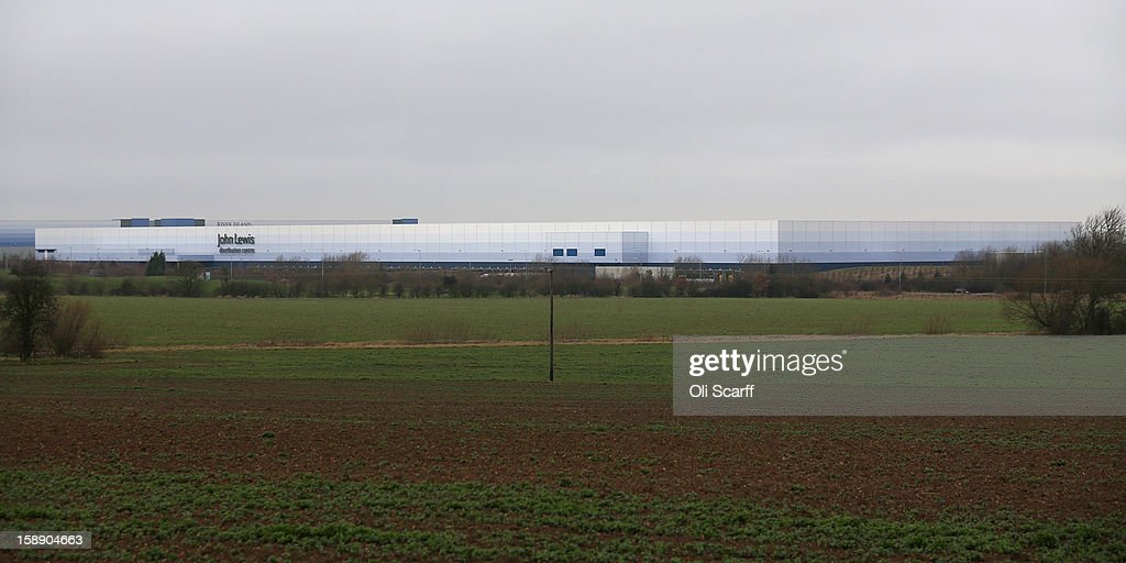 An exterior view of the giant semi-automated distribution centre where the company's partners process the online orders for the John Lewis department store on January 3, 2013 in Milton Keynes, England. John Lewis has published their sales report for the five weeks prior December 29, 2012 which showed online sales had increased by 44.3 per cent over the same period in 2011. Purchases from their website Johnlewis.com now account for one quarter of all John Lewis business..