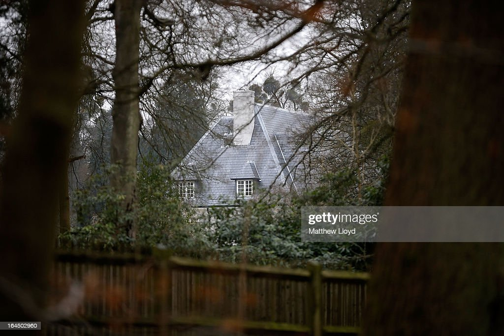 An exterior view of the home of Russian oligarch Boris Berezovsky after he was found dead on March 24, 2013 in Sunningdale, England. Specialist police teams skilled in biological, nuclear and chemical materials have been called in to search the property and investigate the cause of death which they have reported as unexplained. Berezovsky, aged 67, emigrated to the United Kingdom in 2000 and achieved political asylum three years later on the grounds that his life would be in danger should he return to Russia.
