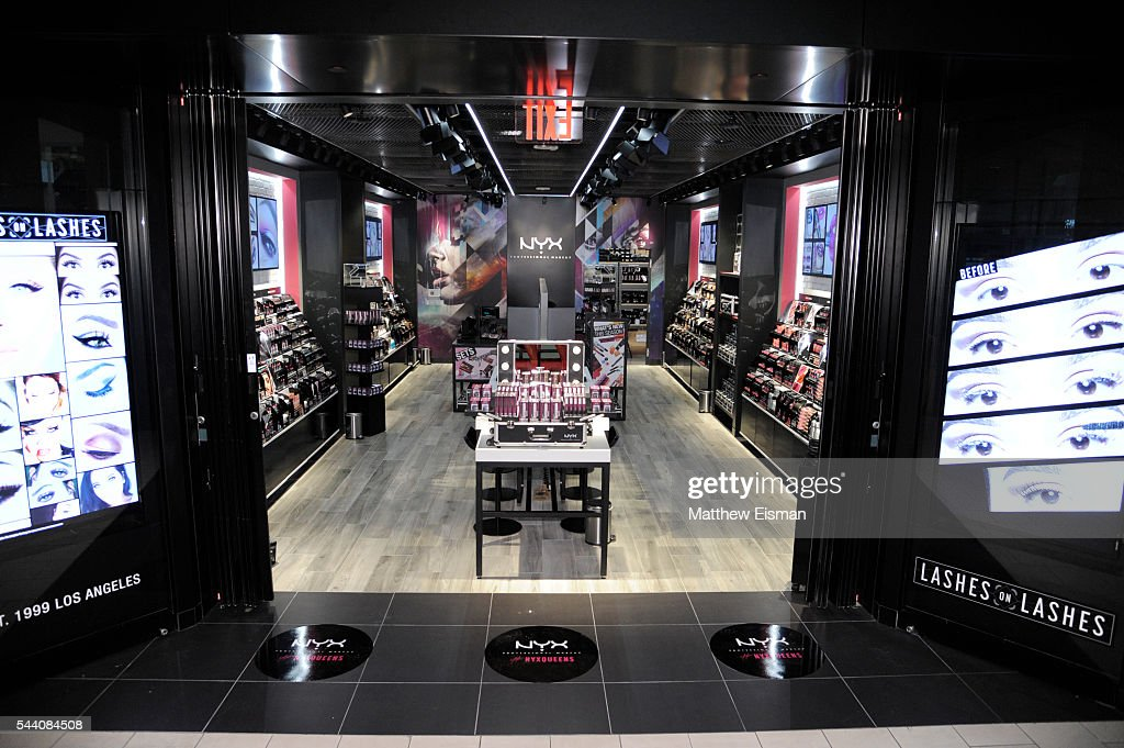 An exterior view of the NYX Professional Makeup Store at Queens Center on July 1, 2016 in Elmhurst, New York.