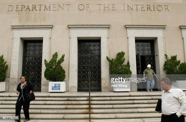 United States Department Of The Interior Building Stock Photos And Pictures Getty Images