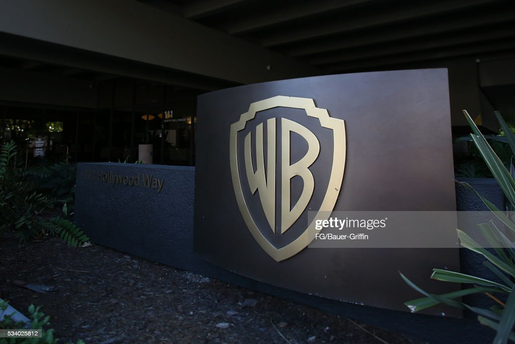 An exterior view of Warner Bros studios in Burbank on May 24, 2016 in Los Angeles, California.