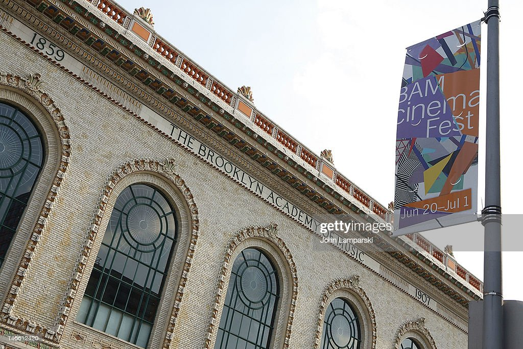 An external view during the BAMcinemaFest 2012 Opening Night Screening Of 'Sleepwalk With Me' at the Brooklyn Academy of Music on June 20 2012 in the...