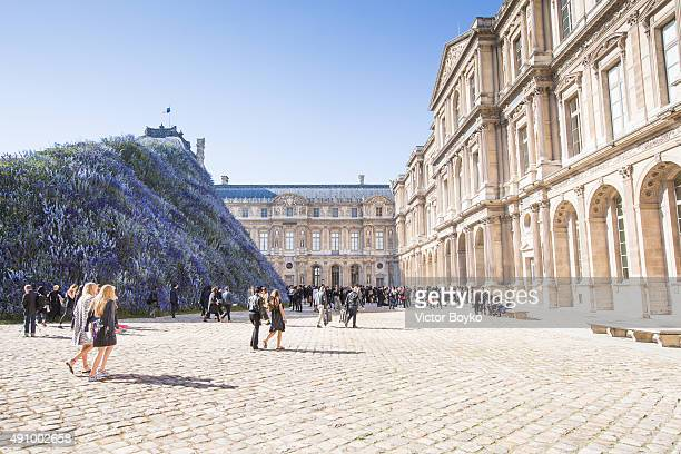 An external view of the venue of the Christian Dior show as part of the Paris Fashion Week Womenswear Spring/Summer 2016 on October 2 2015 in Paris...