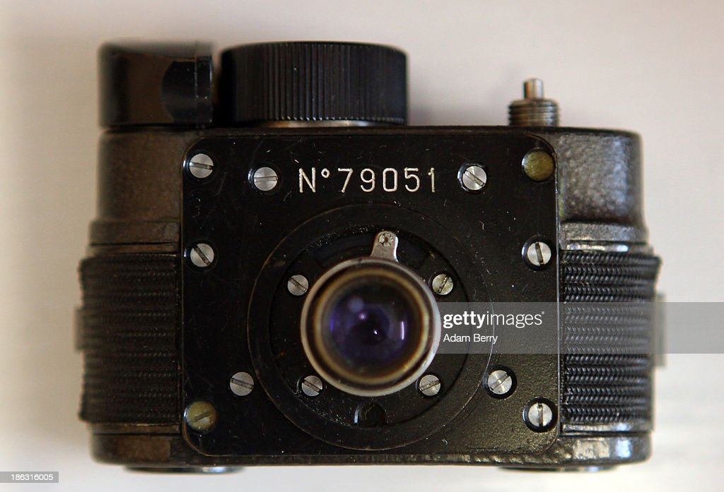 An F21 'Ammer' spy camera is displayed at the Stasi (Staatssicherheit), or East German Secret Police Museum, on October 30, 2013 in Berlin, Germany. German officials have maintained that they had strong evidence indicating that the American Nation Security Agency (NSA) has eavesdropped on Chancellor Angela Merkel's mobile phone, surveillance that the U.S. has since claimed is essential to its security operations and is standard procedure. The charge has caused a furor among political leaders across Europe, but is particularly troublesome to those who, like Merkel, grew up in the former East Germany and have recent memories of being spied upon by their own government. In response to anger over the matter from Germany, Mexico, France, Spain and Brazil ,the U.S. Senate Intelligence committee is currently conducting a major review of such surveillance operations, while the NSA insists that any such data collected on ordinary citizens turned over to the agency had been conducted by the local allied governments themselves.