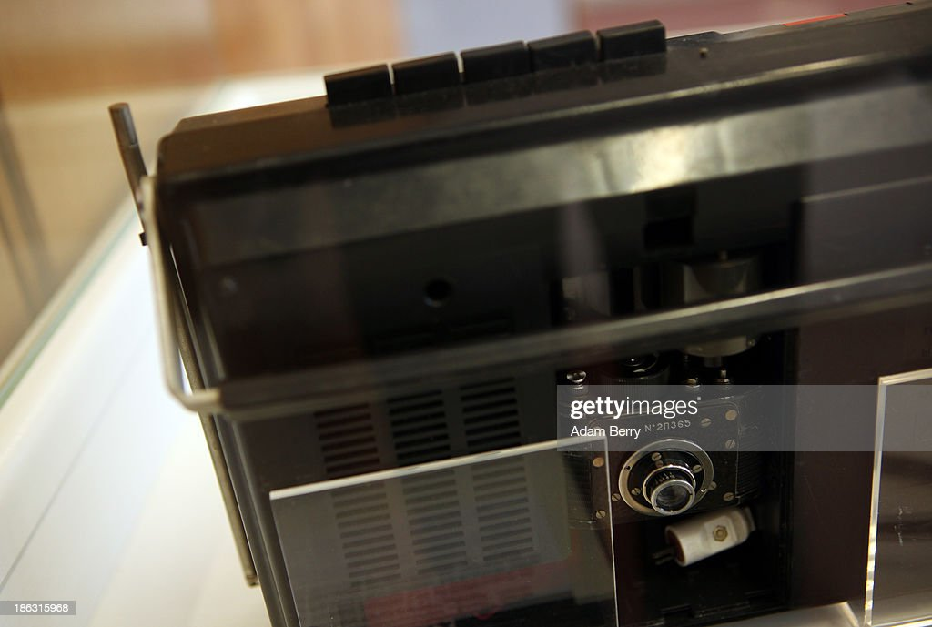 An F21 'Ammer' still camera is displayed hidden in the battery compartment of a consumer cassette player at the Stasi (Staatssicherheit), or East German Secret Police Museum, on October 30, 2013 in Berlin, Germany. German officials have maintained that they had strong evidence indicating that the American Nation Security Agency (NSA) has eavesdropped on Chancellor Angela Merkel's mobile phone, surveillance that the U.S. has since claimed is essential to its security operations and is standard procedure. The charge has caused a furor among political leaders across Europe, but is particularly troublesome to those who, like Merkel, grew up in the former East Germany and have recent memories of being spied upon by their own government. In response to anger over the matter from Germany, Mexico, France, Spain and Brazil ,the U.S. Senate Intelligence committee is currently conducting a major review of such surveillance operations, while the NSA insists that any such data collected on ordinary citizens turned over to the agency had been conducted by the local allied governments themselves.
