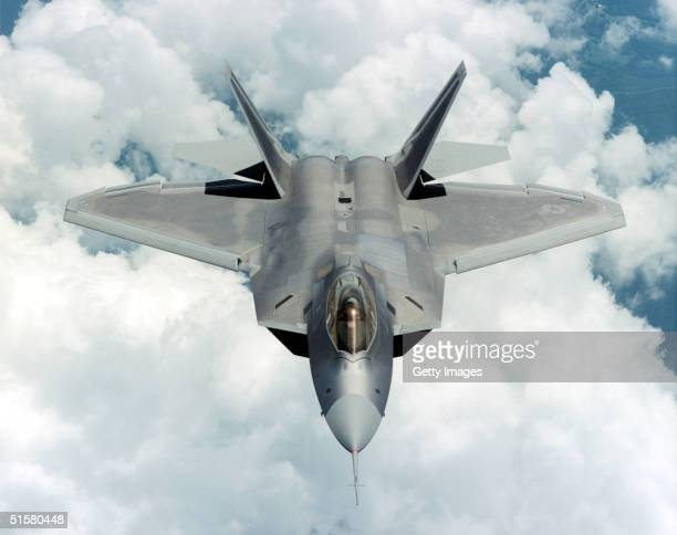 An F22 Raptor flies in this undated image provided by Lockheed Martin The first Raptor will join the 27th Fighter Squadron at Langley Air Force Base...
