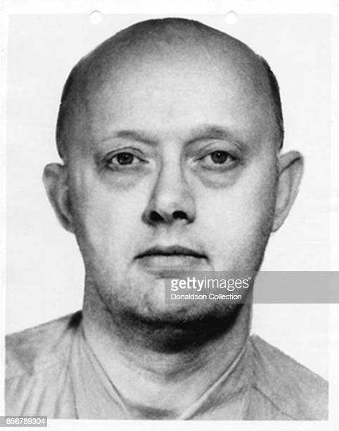 An FBI mug shot of escaped bank robber Benjamin Hoskins Paddock aka 'Big Daddy' and 'Old Baldy' and father of accused mass murder Stephen Paddock...