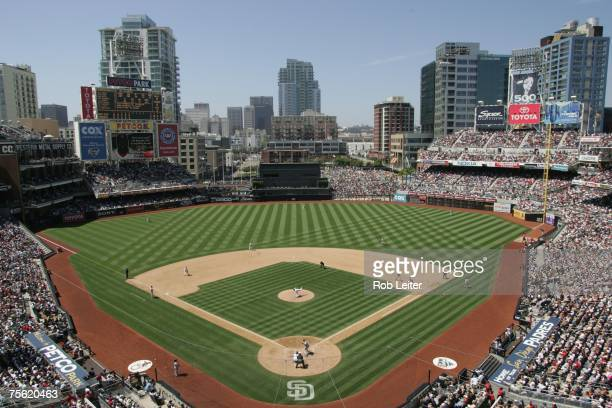 An general view view of Petco Park during the Boston Red Sox game against the San Diego Padres at Petco Park in San Diego California on June 24 2007...
