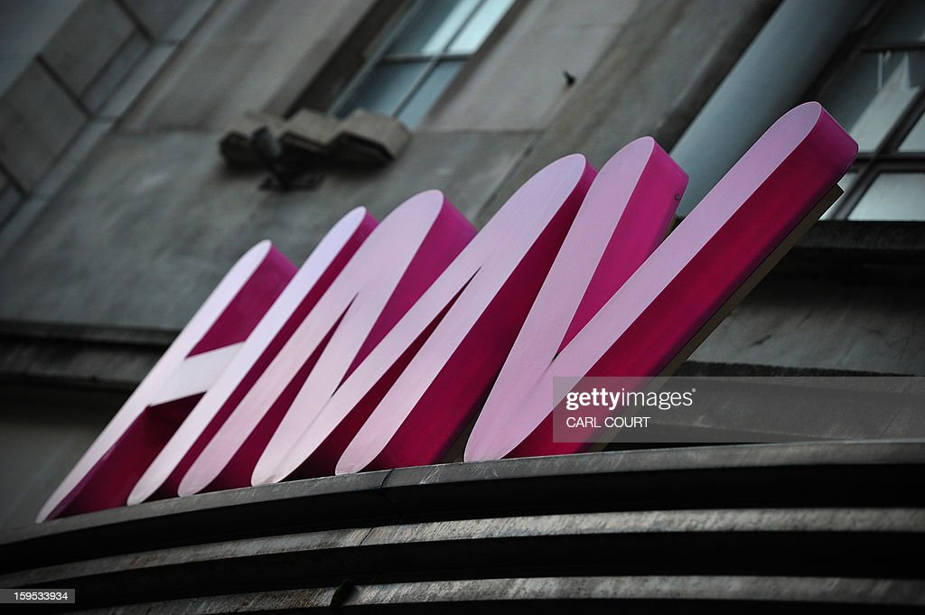 An HMV sign is pictured outside a branch of the music retailer in central London on January 15, 2013. Iconic British music retailer HMV was fighting for its survival on Tuesday after the group looked to the Deloitte financial group to help save it from a collapse which could see the loss of more than 4,000 jobs.