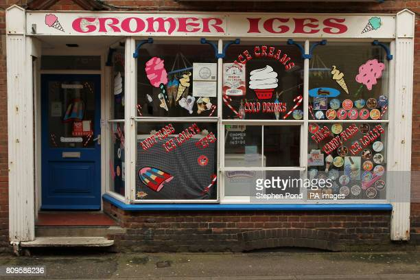 An ice cream shop in the seaside town of Cromer on the North Norfolk Coast