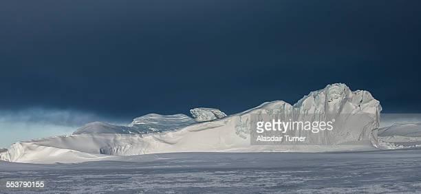 An iceberg in the Ross Sea, Antarctica.