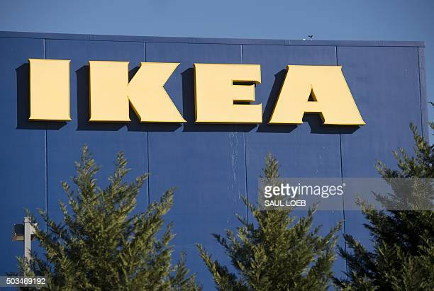 An Ikea furniture store location in Woodbridge Virginia January 5 2016 AFP PHOTO / SAUL LOEB / AFP / SAUL LOEB