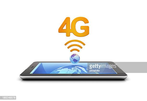 An illustration of a table with 4G connection