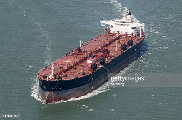 An image of Oil tanker on the ocean