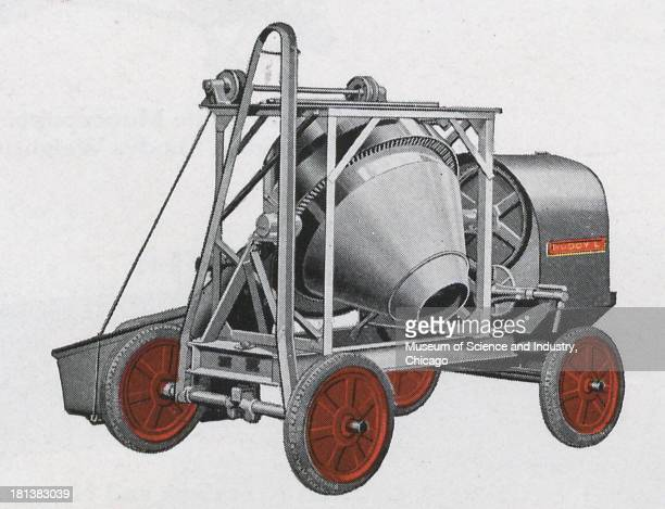 An image of the Buddy 'L' Junior Concrete Mixer June 1930 It originally appeared in 'And Here's Buddy 'L' Junior' published by the Buddy 'L'...