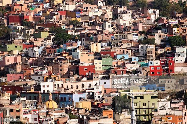 カラフルな街のグアナファト州(メキシコ)