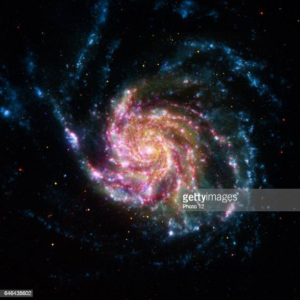 An image of the Pinwheel Galaxy or M101 Located in the constellation of Ursa Major