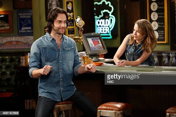 UNDATEABLE 'An Imaginary Torch Walks Into A Bar' Episode 204 Pictured Chris D'Elia as Danny Bridgit Mendler as Candace