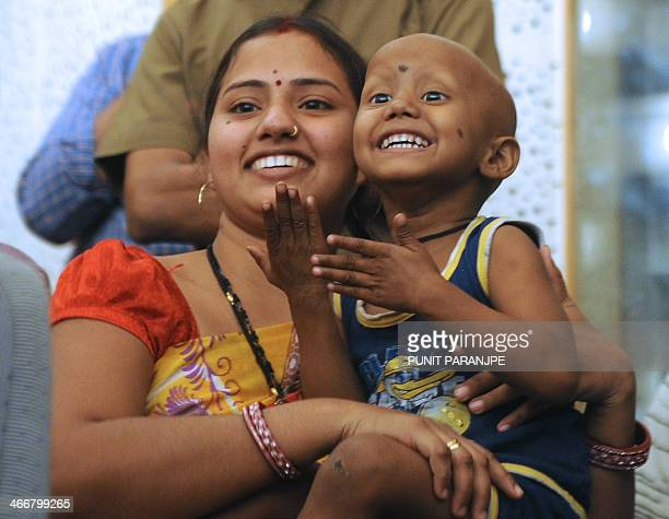 An Indian child undergoing cancer treatment attends an event at the Tata Memorial hospital in Mumbai on February 4 2014 New cases of cancer will rise...