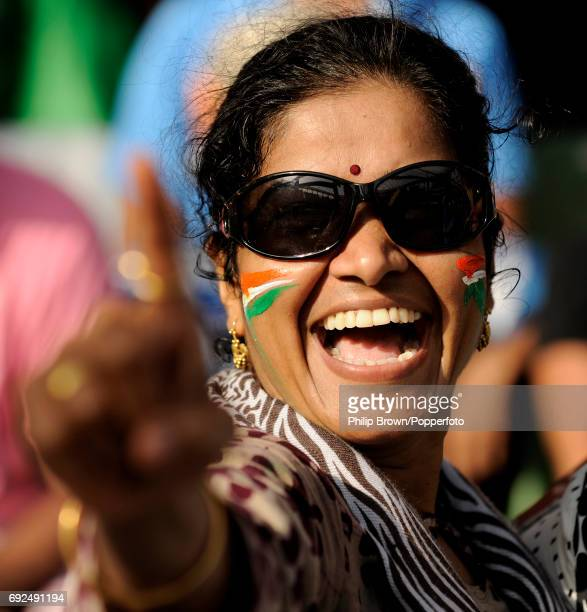 An Indian fan during the ICC Cricket World Cup final against Sri Lanka at the Wankhede Stadium in Mumbai on the 2nd of April 2011