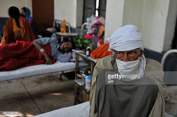 An Indian tuberculosis patient rests at the Rajan Babu Tuberculosis Hospital in New Delhi on March 24 2014 India must stop its doctors prescribing...
