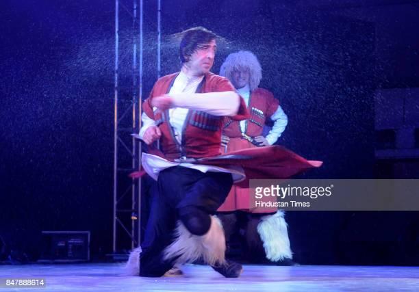An IndoGerogian Dance Fusion Fest named 'Synergy of Rhythm' initiated by BJP MP and actor Hema Malini where Georgian National Ballet 'Sukhisvilli'...