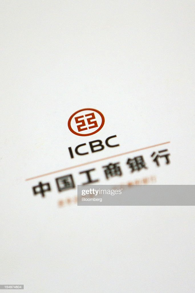 An Industrial and Commercial Bank of China Ltd. (ICBC) brochure is arranged for a photograph in Beijing, China, on Monday, Oct. 29, 2012. ICBC is expected to announce third-quarter results on Oct. 30. Photographer: Nelson Ching/Bloomberg via Getty Images