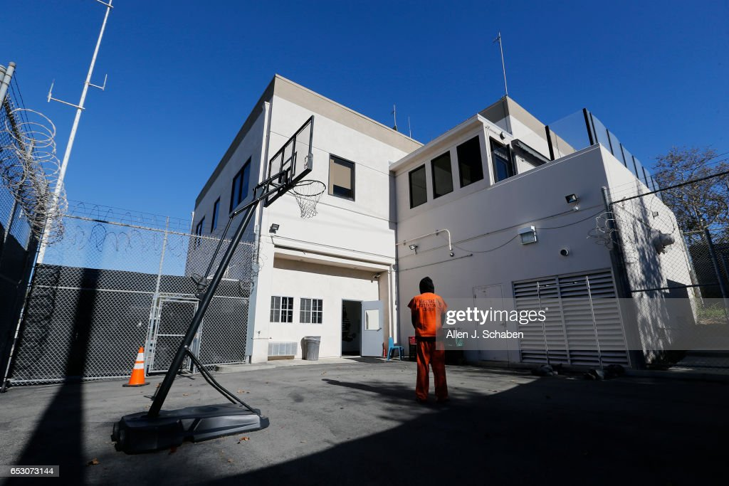 An inmate who is serving four months for DUI and is serving his time in the pay-to-stay program, stands in the recreation yard at the Seal Beach Detention Center in Seal Beach. Project is a first-ever review of all 26 pay to stay jails in Southern California, where we've found inmates convicted of violent crimes and sex crimes, and repeat offenders. Seal Beach is by far the most lucrative of the programs, and appears to allow the most serious charges. Photo taken Tuesday, Nov. 29, 2016.