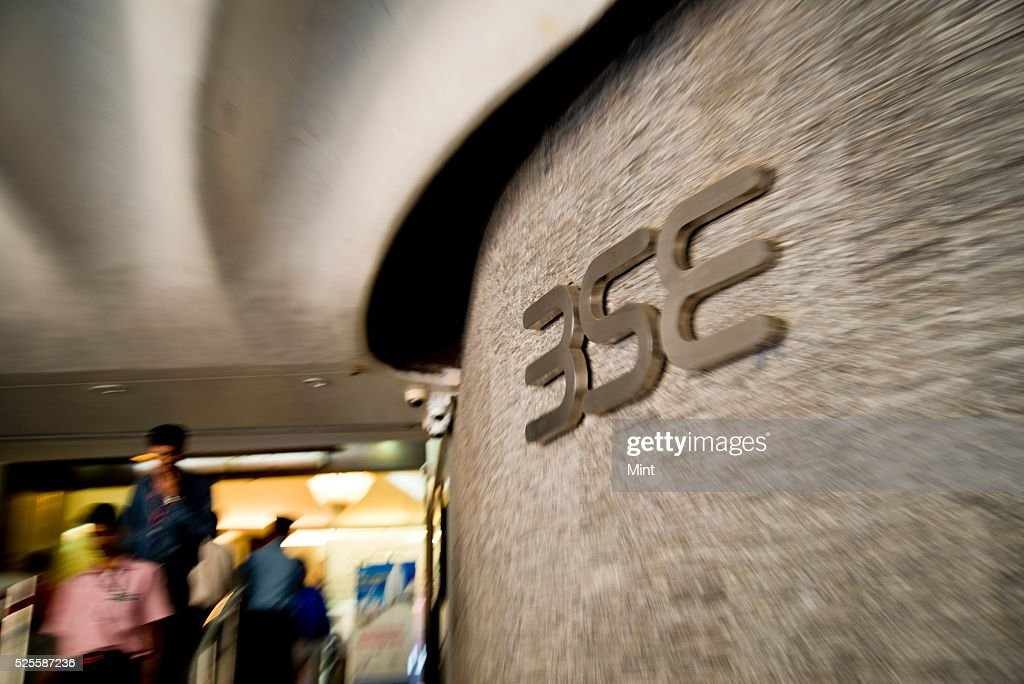 An inside view of Bombay Stock Exchange on May 15, 2015 in Mumbai, India.