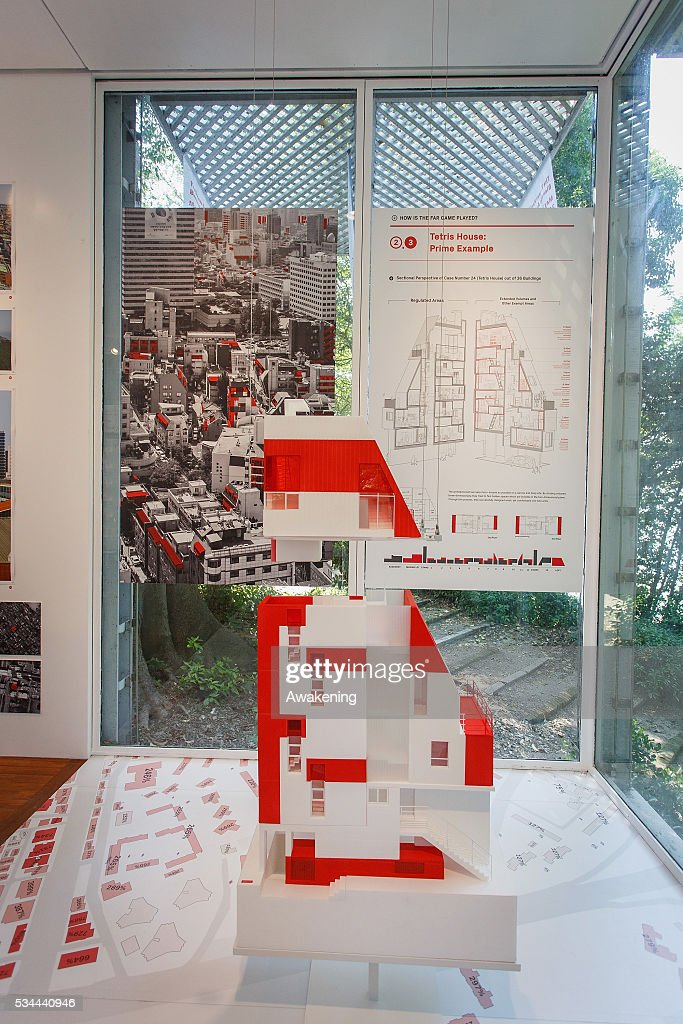 An installation is seen in the Korea Pavillion of the 15th Architecture Venice Biennale, on May 26, 2016 in Venice, Italy. The 15th International Architecture Exhibition of La Biennale di Venezia will be open to the public from May 28 to November 27 in Venice, Italy.