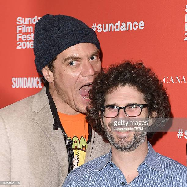 An instant view of actor Michael Shannon and director Joshua Marston as they attend the 'Complete Unknown' Premiere during the 2016 Sundance Film...