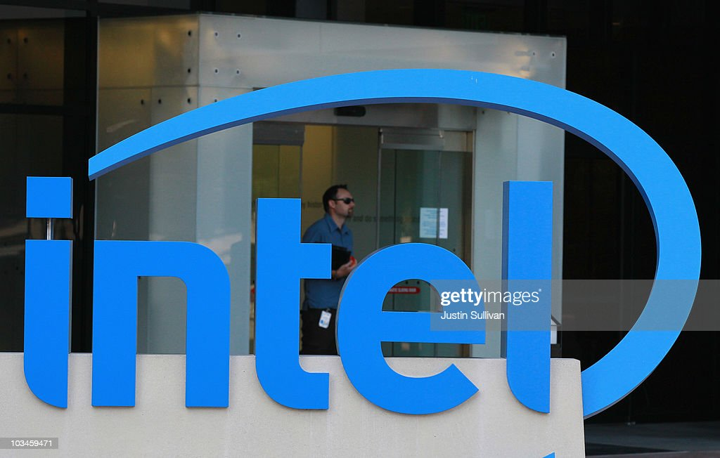 An Intel employee leaves the office August 19, 2010 in Santa Clara, California. Intel announed today that it plans to buy security software maker McAfee for a reported $7.68 billion.
