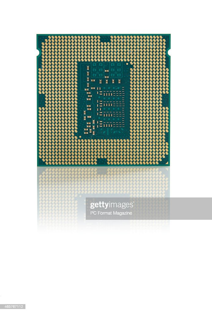 An Intel Pentium Anniversary Edition G3258 CPU taken on June 9 2014