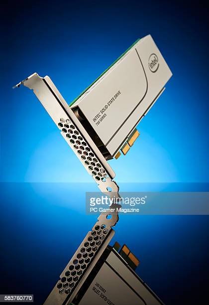 An Intel SSD 750 solidstate drive taken on January 12 2016