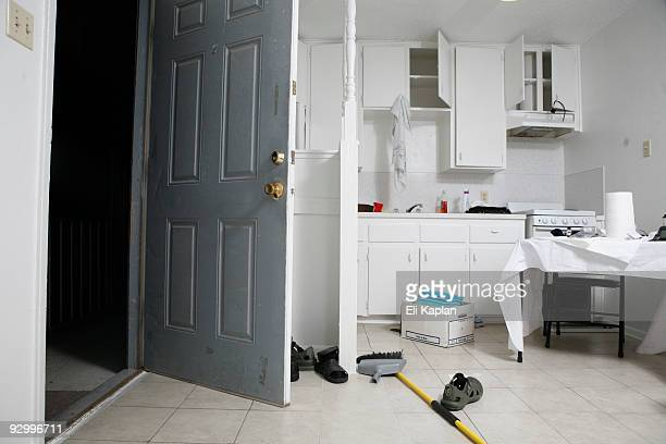 An interior view is seen of Major Nidal Malik Hasan's apartment in the Casa Del Norte apartment complex November 11 2009 in Killeen Texas Major Hasan...