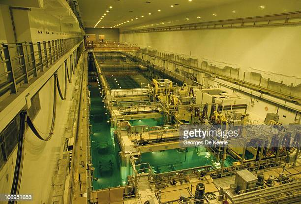 An interior view of the Sellafield nuclear processing plant in Cumbria December 1986