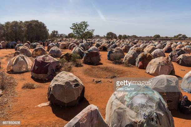 An Internally Displaced Persons camp in Dinsor Somalia Somalia is in the grip of an intense drought induced by consecutive seasons of poor rainfall...