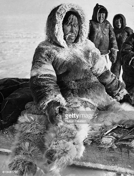 An Inuit walrus hunter who suffered severe frostbite when the section of ice on which he was hunting broke away from the land setting him and his...